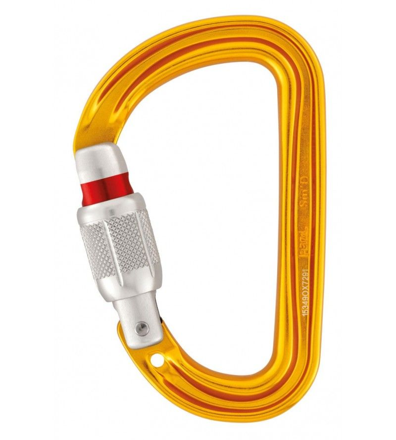 Mosquetón Petzl SMD Screw Lock