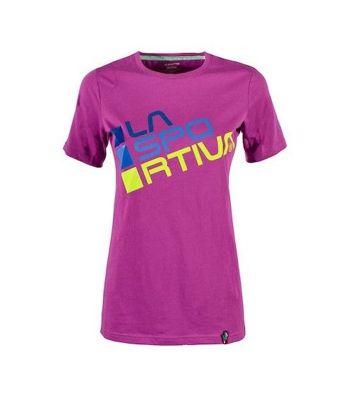 Camiseta La Sportiva Square Purple