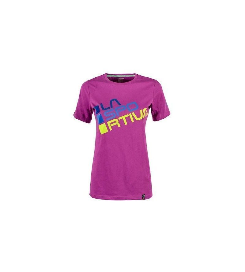Camiseta La Sportiva Square Purple