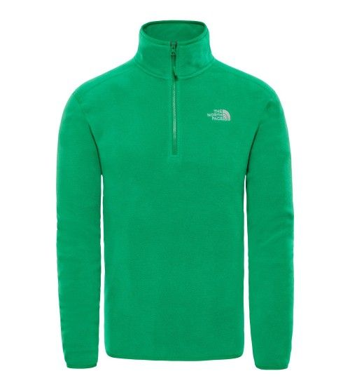 The North Face 100 Glacier 1/4 Zip Green