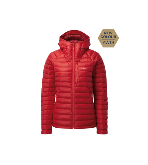 Chaqueta Plumas Rab Microlight Woman Long