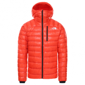 The North Face Summit Down Hoodie Red