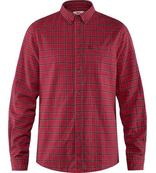 Fjall Raven Obik Flannel Camisa deep red