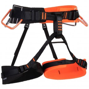 Mammut 4 Slide Harness orange black