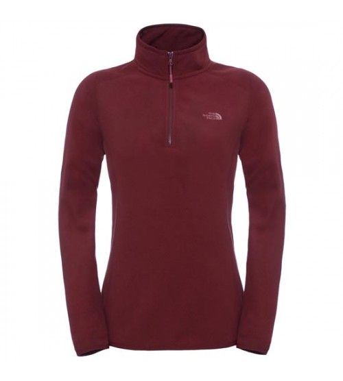 Forro Polar The North Face W 100 Glacier 1/4 Zip