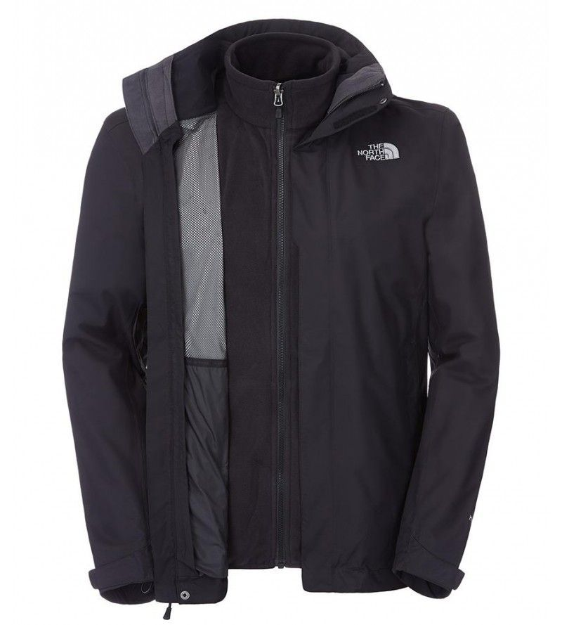 Chaqueta North Face Evolve II Tri Jacket  Black