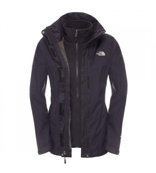 The North Face W Evolve II Tri Jckt Black