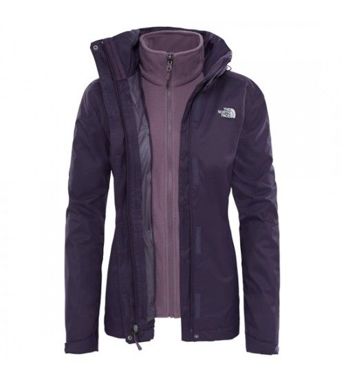 The North Face W Evolve II Tri Jckt Purple